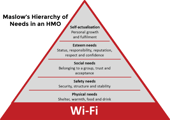 Maslow's Hierarchy of Needs in an HMO