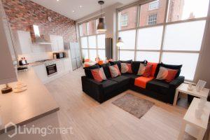 hmo open plan living space design