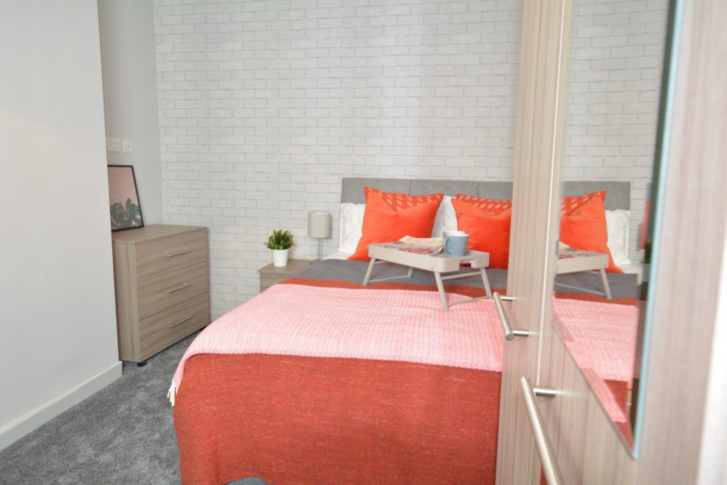 HMO bedroom