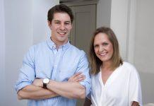 Rob Hodge and Sarah Antico