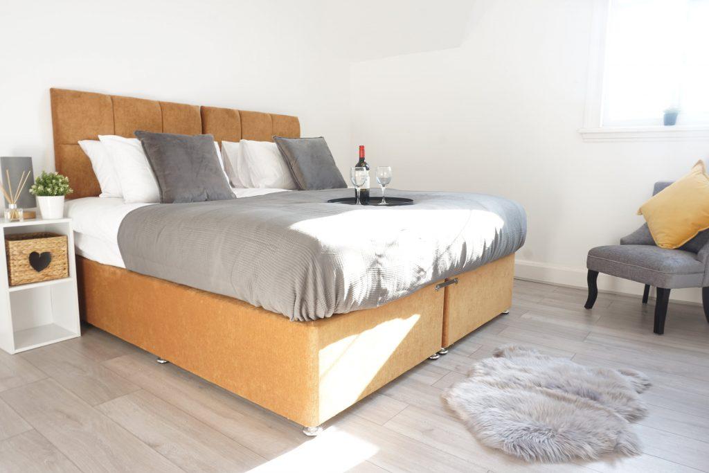 Bedroom, Moseley Villa