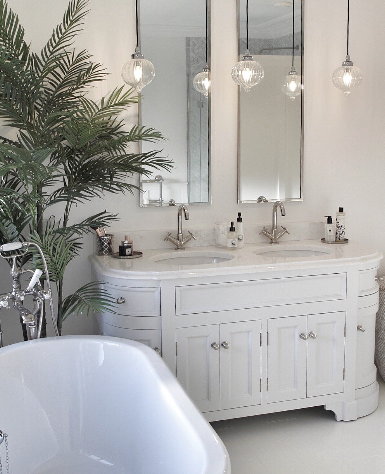 Swanky vanity bathroom